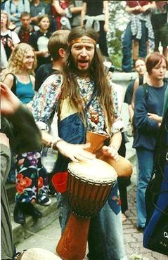 hippie-bongo