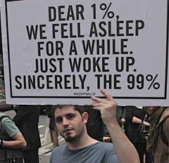 sleepy protest