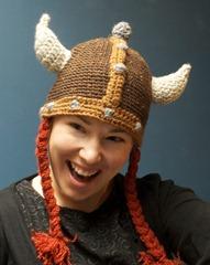 stella with viking hat
