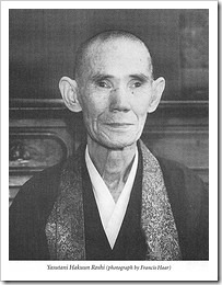 Hakuun Yasutani Roshi