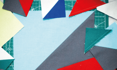 Half Square Triangles und Precuts (ein mini Tutorial)