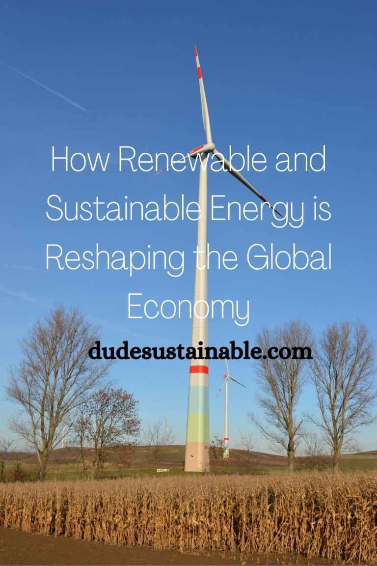How Renewable and Sustainable Energy is Reshaping the Global Economy