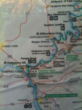 C&O Canal Map (1 of 4)
