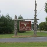Redden State Forest Sign, Delaware