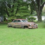 Rusty Old Car on the Eastern Shore in Maryland