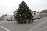 Christmas Tree in Aurora, Indiana