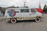 Grateful Dead Van in Aurora, Indiana
