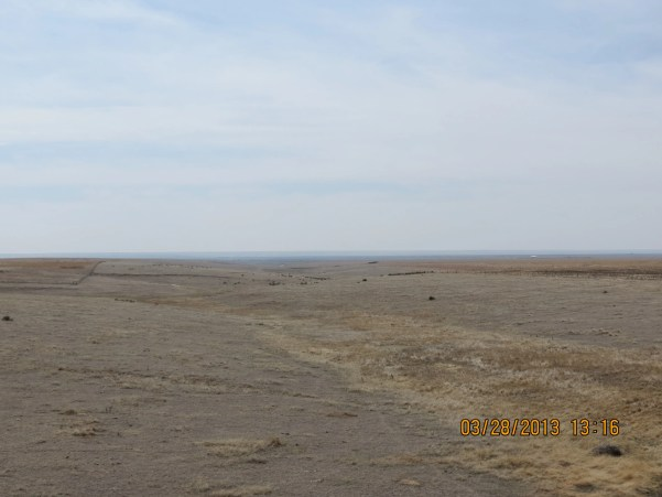 Open Plains Outside McAllaster, Kansas