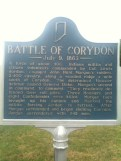 Battle of Corydon Sign