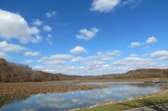 Burr Oak Reservoir in Burr Oak State Park