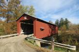 Shinn Covered Bridge Outside Bartlett, Ohio