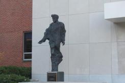 JFK Statue at Dayton University