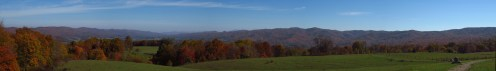 Epic Fall Colors from a Cow Pasture in Tennessee