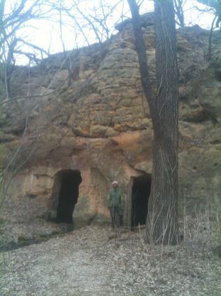 Faris Caves in Kanopolis, Kansas
