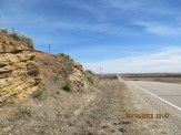 Highway Rocks Outside Brookville, Kansas
