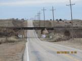 Hill Under Railroad Outside Wilson, Kansas