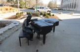 Indiana University Hoagy Carmichael Piano Statue