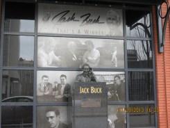 Jack Buck Statue at Busch Stadium in St Louis