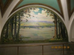 Father of Waters Mural in the Jefferson City State Capital Building