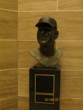 Stan Musial Bust in the Jefferson City State Capital Building