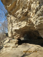 Cave in a Bluff on the Katy Trail