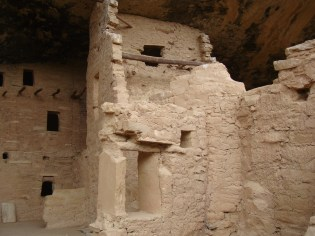 Spruce Tree House in Mesa Verde National Park, Colorado