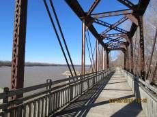 Bridge Over the Missouri River on the Katy Trail