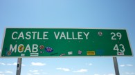Moab and Castle Valley Sign