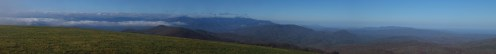 Morning on Max Patch on the Tennessee/North Carolina Border