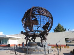 Olympic Strength Statue at the Olympic Training Center in Colorado Springs, Colorado