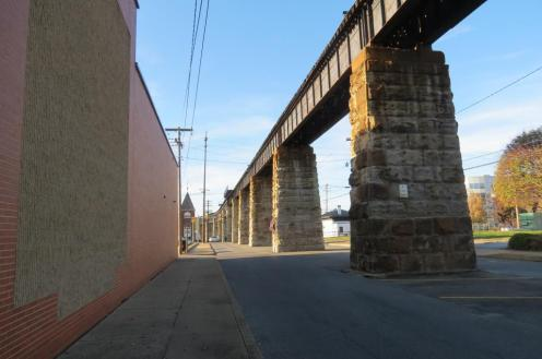 Railroad Bridge in Parkersburg, West Virginia