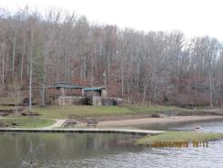 Pounds Hollow Recreation Area Lake in the Shawnee National Forest