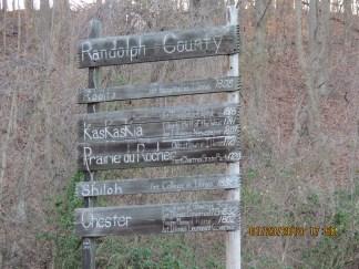 Randolph County Sign