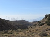 Mesa Wind Farm Near San Gorgonio Pass