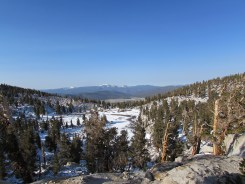 Overlooking Sequoia National Park