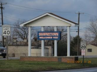 Shawneetown Sign