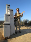 Starting at the Southern Terminus at the Mexican Border Near Campo