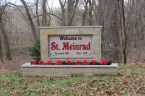 St Meinrad, Indiana Sign