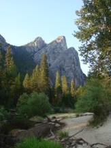 Three Brothers in Yosemite National Park, California