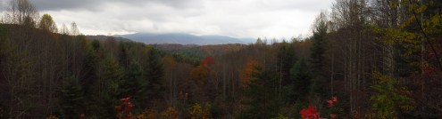 View from Vango Memorial Bench in Tennesee Panorama