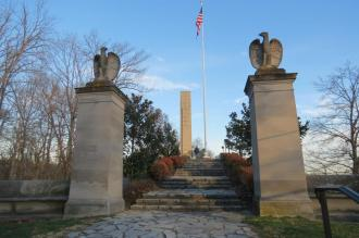 William Henry Harrison Tomb in North Bend, Ohio