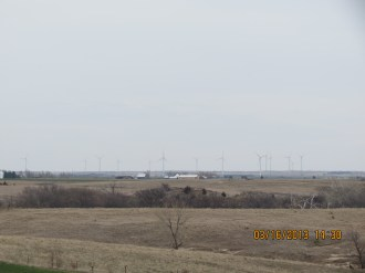 Wind Farm Outside Wilson, Kansas