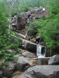 Zealand Falls in the White Mountains in New Hampshire