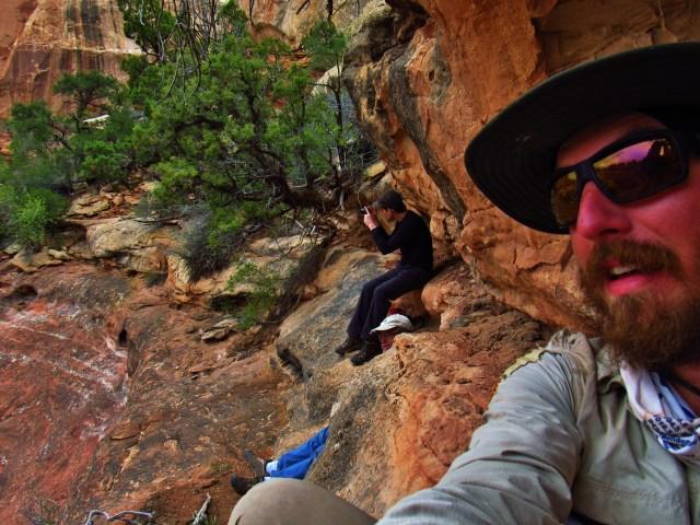 Druid Arch Selfie