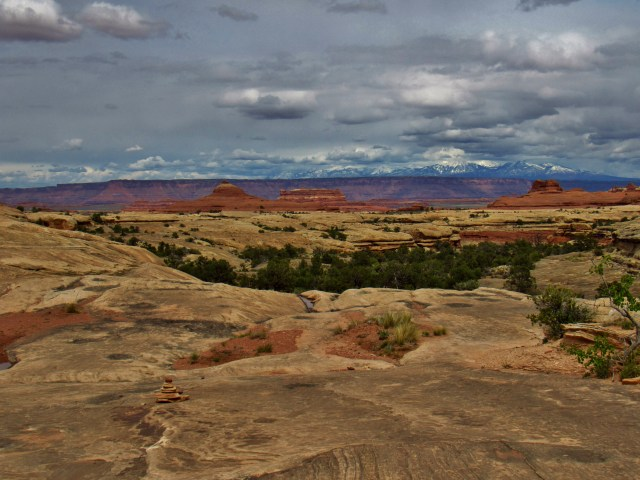 Squaw Butte and the La Sals