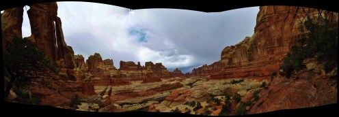 Druid Arch Panorama
