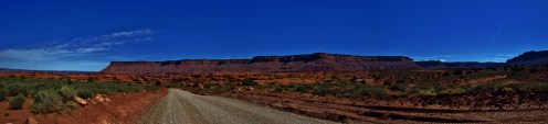 Kane Springs Road Panorama