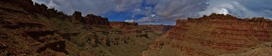 Lower Red Lakes Canyon Panorama