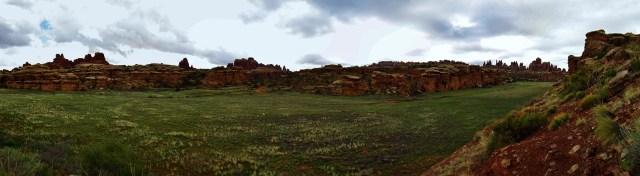 Red Lakes Canyon Panorama