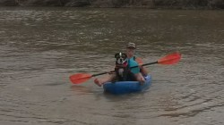 Chill Kayak Dawg on the Daily